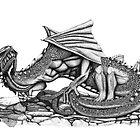 Chaos Dragon by Paul Stratton