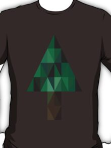 Abstract Christmas Tree T-Shirt