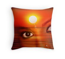 Sunset 12 Throw Pillow