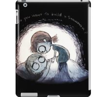 Do You Want For Build Snowman Christmas iPad Case/Skin