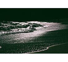 Silver Seas Photographic Print