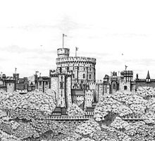 Fantasy Windsor Castle  by Paul Stratton