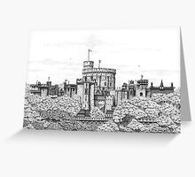 Fantasy Windsor Castle  Greeting Card