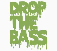 Drop The Bass (Melt) [neon] Kids Tee