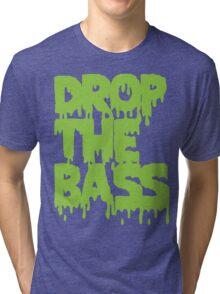 Drop The Bass (Melt) [neon] Tri-blend T-Shirt