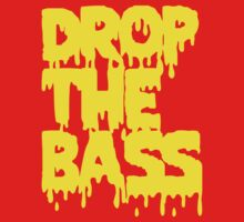 Drop The Bass (Melt) [yellow] One Piece - Short Sleeve