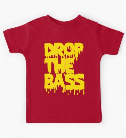 Drop The Bass (Melt) [yellow] Kids Tee