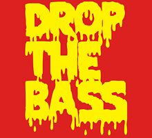 Drop The Bass (Melt) [yellow] Unisex T-Shirt