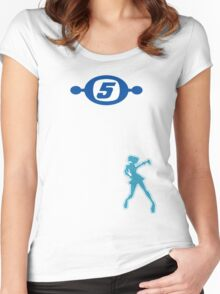 Space Channel 5 Retro Shirt Women's Fitted Scoop T-Shirt