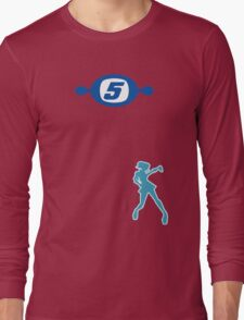 Space Channel 5 Retro Shirt Long Sleeve T-Shirt