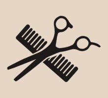 Comb & Scissors by Designzz