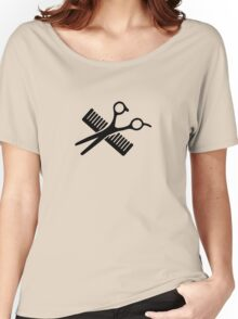 Comb & Scissors Women's Relaxed Fit T-Shirt
