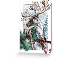 The Holiday Courier Greeting Card