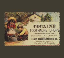 Cocaine Toothdrops Advert by mumblebug