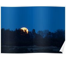 Super Moon Rising Poster