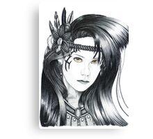 Amazon Warrior (full version) Canvas Print