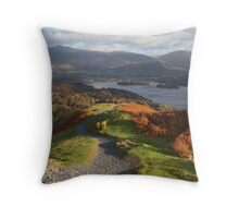 Good Morning Keswick Throw Pillow