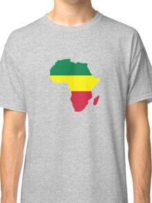Africa map reggae Classic T-Shirt