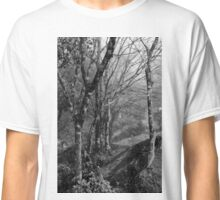 Forest under the fog Classic T-Shirt