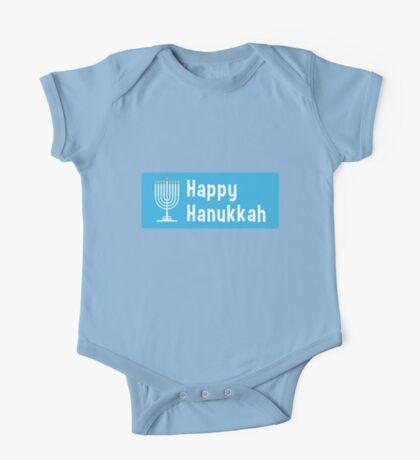 Hanukkah sticker One Piece - Short Sleeve