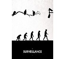 99 Steps of Progress - Surveillance Photographic Print