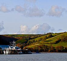 Training Docks at BRNC by Thomas Buckley