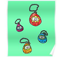digital keychain pets Poster