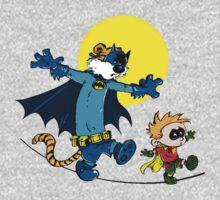 Funny Batman And Robin Baby Tee