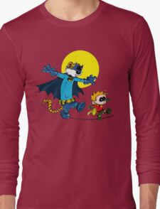 Funny Batman And Robin Long Sleeve T-Shirt
