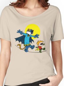Funny Batman And Robin Women's Relaxed Fit T-Shirt