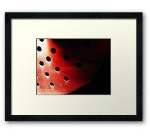 Red Eclipse  Framed Print