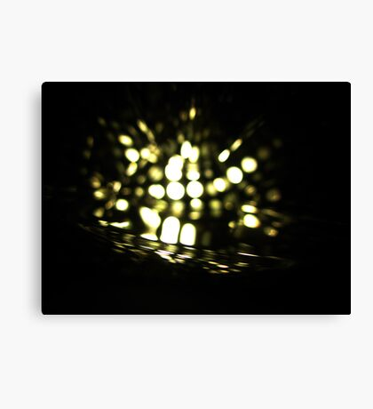 Firefly in Water Canvas Print