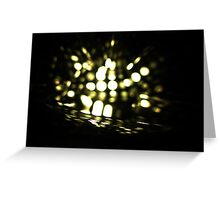 Firefly in Water Greeting Card