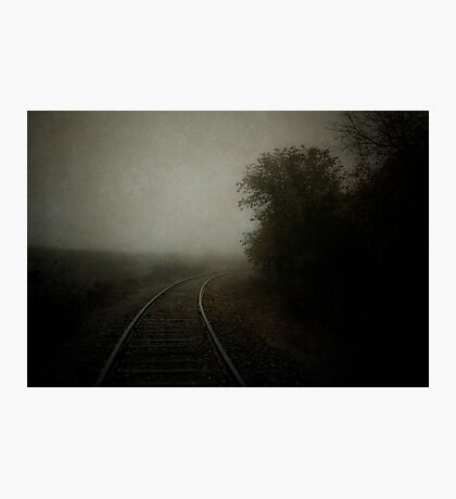 Tracks 001 Photographic Print