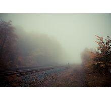 Tracks 005 Photographic Print