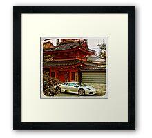 Japan  Framed Print