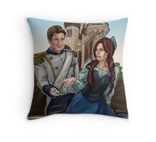 Castle's Castles Throw Pillow