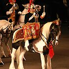 Mounted Kettle Drummer, Blues and Royals by Colin Shepherd