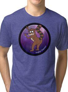 Rigby Dance (Regular Show) Tri-blend T-Shirt