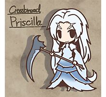 Cross breed priscilla Chibi version Photographic Print