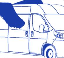 ICARUS REMOVALS (sticker) Sticker