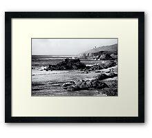 Savage Coast, Audierne  2012 Framed Print