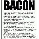 FUNNY POSTER OF BACON! by BennH