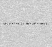 Hello World One Piece - Long Sleeve
