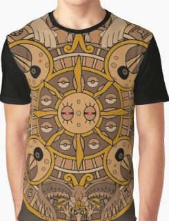 Pokemon Mayan Calendar Graphic T-Shirt