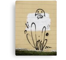 Lively tag Canvas Print