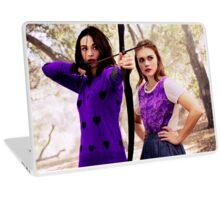 Purple Allydia Laptop Skin