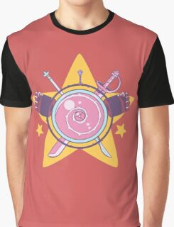 Crystal Crest Graphic T-Shirt