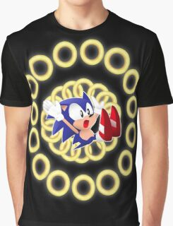 Classic Sonic - Ring loss  Graphic T-Shirt