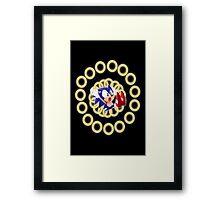 Classic Sonic - Ring loss  Framed Print